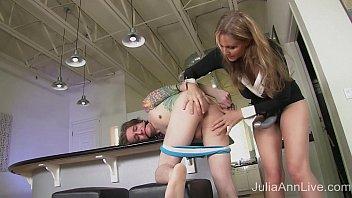 StepMom Julia Ann Fucks Stepson in Ass! preview image