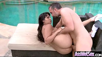 Big Wet Oiled Butt Girl (mercedes carrera) Get Analy Fucked vid-22