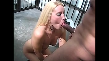 Sexy booty Sunny Dae bends to give a mind blowing blowie to a huge dick
