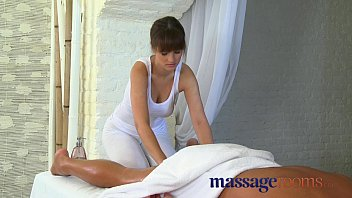 Massage Rooms Big cock therapy by masseuse fucking big tits