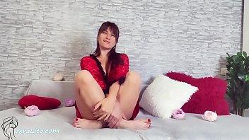 Intimate Sex with Passionate Brunette - JOI Masturbation