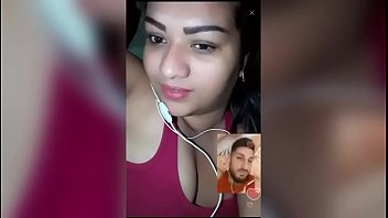 Indian Bhabi Sexy Video Call Over Phone