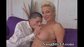 Mature experienced woman Naughty tj unleashes huge cock