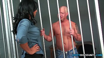 Adult dvd discount Police babe doggystyled and facialized