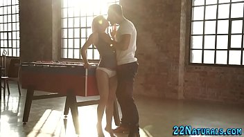 Petite babe gets rammed
