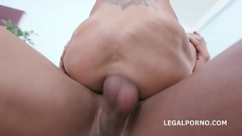 Double Anal Creampie Aletta Black meets 2 BBC with Balls Deep Anal, DAP, Gapes, Creampie & Swallow GIO1307