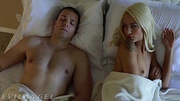 EVIL ANGEL Elsa Jean Fucks Sleeping Boyfriend's Best Friend