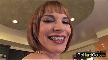 Dana DeArmond Dana c. on a massive cock again