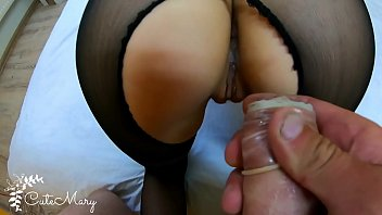 Funny condom pics Cheating wife stranger takes condom off and gets accidental creampie