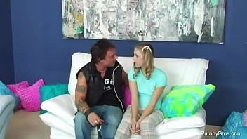 Pigtail Step Daughter Parody Fantasy Arousement Session