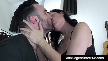 Big French Dick Alex Legend Fucks Hot Brunette Sovereign Syre!