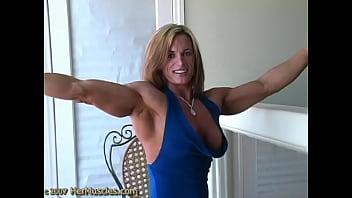 Sex muscle women Csabo