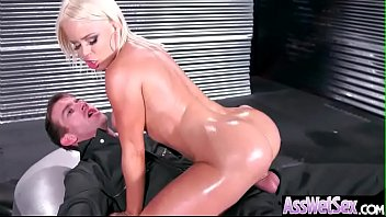 (Nikki Delano) Gorgeous Girl With Huge Ass Enjoy Deep Anal Bang clip-27