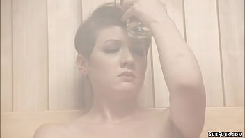 Master fisting slave in showers 5 min
