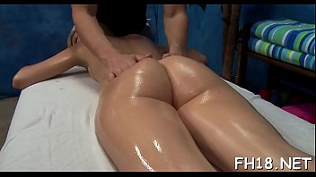 Watch as these cute 18 year old girls get a surprise pleased ending by their massage therapist!