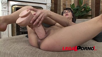 Extra large dildo - Horny college girl felicia gets wicked with some extra large dildos