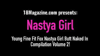 Young Fox With A Round Ass Nastya Girl – Compilation Part 2!