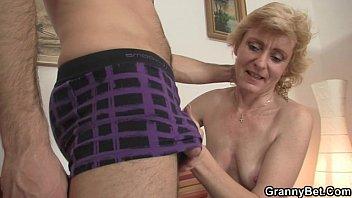 Fresh granny porn Fresh cock for hot mature woman
