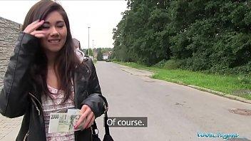 Public Agent Asian cutie fucked by a stranger for money porno izle