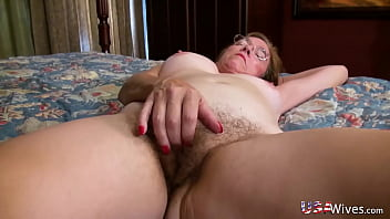 USAwives Busty  Matures Self Stimulation with  imulation with Toys