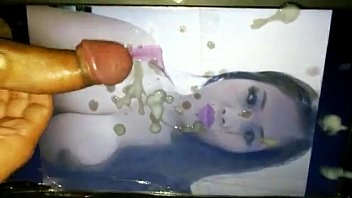 Indonesian whore covered with semen