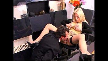 Secretary with Big natural titts banged 22 min