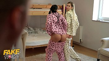 Fake Hostel y. in pajamas have fun with a thick cock squirt porno izle