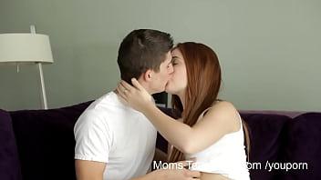 YouPorn - Moms Teach Sex Horny mom teaches stepdaughter how to fuck pornhub video
