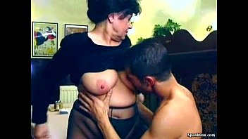 Grannies get fuck Sexy granny gets fucked in restaurant
