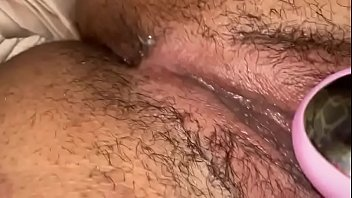 Clit sucker makes her pussy wet