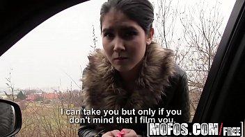 Mofos - Stranded Teens - Czech Honeys Roadside Sex Tape starring  Lady D