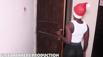 Round Ass Naija Girl Fucking Neighbour Big Cock For Christmas Gift