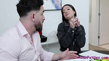 Tutor's Method To Punish Asian Teen- Paisley Paige