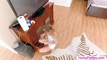 Teen housekeeper fucked by boss for stealing