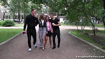 Young Sex Parties - Girlfriends Vika Volkova gang-bang Diana Dali teen porn