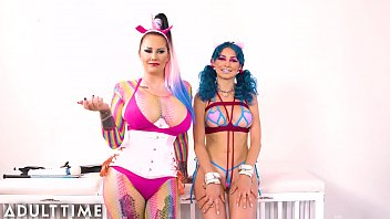 ADULT TIME Bubblegum Dungeon: Lesbian Mistress Dominates