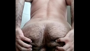 Young Boy Showing Hairy Ass