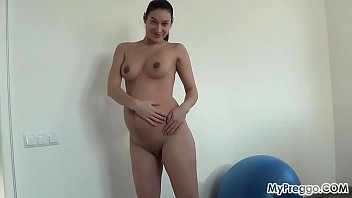 Pregnant Janetta Skips Her Workout in Favor of Sucking Cock!