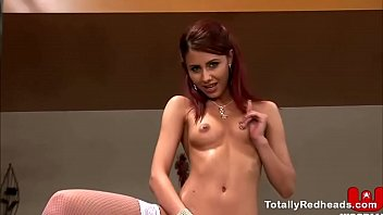 horny redhead has got multiple dicks - Wapin xxx video thumbnail