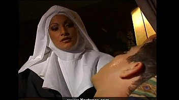 Busty nun fucked in the ass -