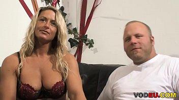VODEU - Big breasted blonde mother loves hard cock 8 min