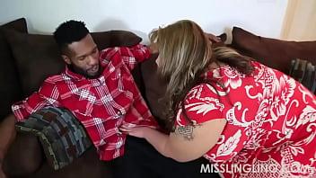 Asian BBW Slut Begs for Big Black Cock