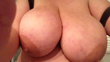 Playing With My Huge Boobies