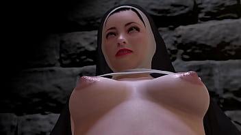 Nun has a night of prayer and lust. 12分钟