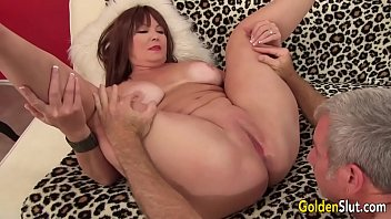 Old vaginal - Mature hoochie isabelle love is banged by a goateed guy