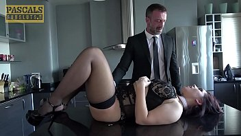 PASCALSSUBSLUTS - Young Busty Effie Diaz 1st Time Domination