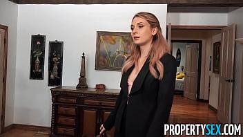 PropertySex Recently Divorced Homeowner Bones Ex-Wife's Hot Friend