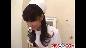 Misato Kuninaka, Asian nurse, drilled with toys 10 min