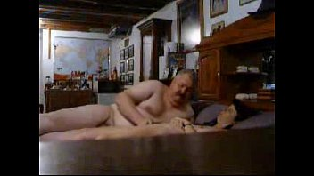 Hidden cam catches my old parents having fun on bed