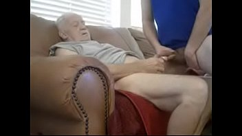 Dirty old gay men silverdaddies - Sucking an old man